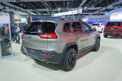 Jeep Cherokee Trailhawk Imagem de Stock Royalty Free