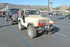Jeep CJ-5 Arkivbild