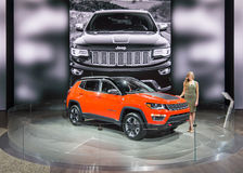 Jeep Compass 2017 stockbilder