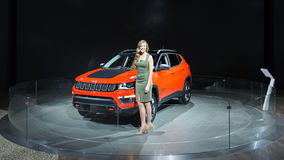 2017 Jeep Compass Royalty-vrije Stock Foto