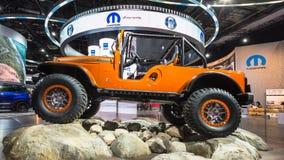 Jeep Compass 2017 Immagini Stock Libere da Diritti