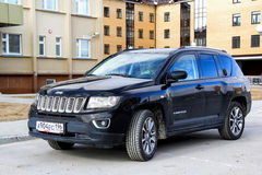 Jeep Compass Royalty Free Stock Photography