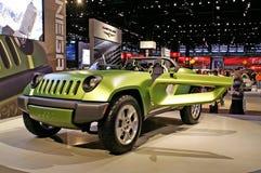 Jeep concept model Stock Photos