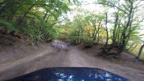 Jeep dans les montagnes aller-pro clips vidéos