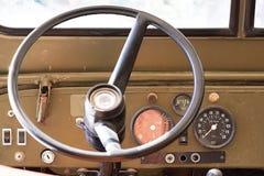 Jeep de la rueda Foto de archivo libre de regalías