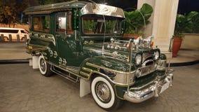 Jeep de Manila Imagen de archivo libre de regalías