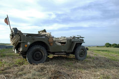 Jeep 2 de MB de Willys Photos libres de droits