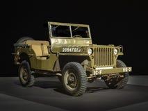 Jeep 1943 de mb de Willys aux 100 années de l'exposition d'automobile images stock
