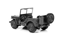 jeep de militaires de vintage photos stock