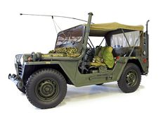 Jeep de Willys Images stock