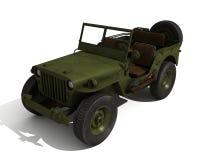 Jeep de Willys Photo libre de droits