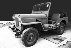 Jeep de Willys de voiture de vintage Image stock