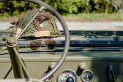 Jeep del Ejército del EE Imágenes de archivo libres de regalías