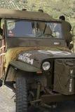 Jeep del Ejército del EE Fotos de archivo