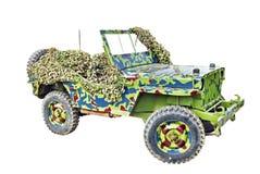 Jeep del Ejército del EE. UU. Foto de archivo