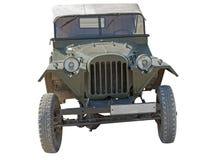 Jeep del Ejército del EE Imagenes de archivo