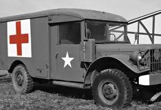 Jeep del médico Fotografía de archivo libre de regalías