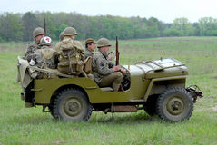 Jeep del MB de Willys Imagenes de archivo