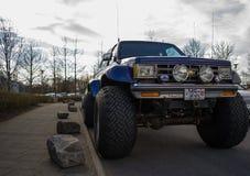 Jeep del monstruo Imágenes de archivo libres de regalías