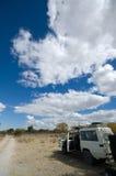 Jeep del safari Imagen de archivo libre de regalías