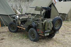 Jeep 10 di MB di Willys Fotografia Stock