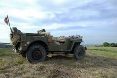 Jeep 2 di MB di Willys Fotografie Stock Libere da Diritti