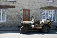Jeep 4 di MB di Willys Immagine Stock