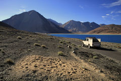 Jeep di viaggio Fotografia Stock Libera da Diritti