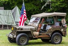 Jeep di WWII Immagine Stock Libera da Diritti