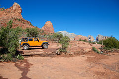 Jeeping Red Rock Country Stock Photo