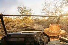 Jeep för drev för kommandosoldatstyrninglek arkivbild
