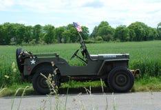 Jeep Francia de Willy Imagen de archivo libre de regalías