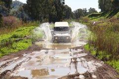 Jeep fuori dalla strada fotografie stock