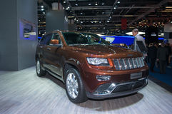 Jeep Grand Cherokee 2014 Stockbilder