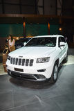 JEEP Grand Cherokee al salone dell'automobile di Ginevra fotografia stock