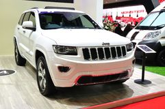 Jeep Grand Cherokee on display Royalty Free Stock Image