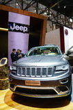 Jeep Grand Cherokee , Motor Show Geneve 2015. Stock Images
