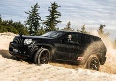 Jeep Grand Cherokee srt-8 Stock Afbeelding
