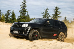 Jeep Grand Cherokee SRT-8 Royalty Free Stock Image