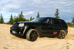 Jeep Grand Cherokee SRT-8 Royalty Free Stock Photos