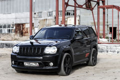 Jeep Grand Cherokee SRT-8 Royalty Free Stock Photography
