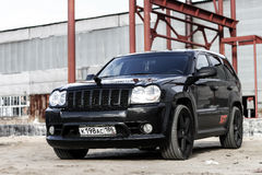 Jeep Grand Cherokee SRT-8 Stock Photos