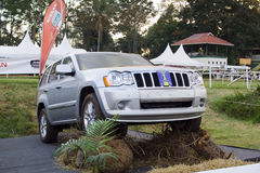 Jeep-großartiges Cherokee Lizenzfreie Stockfotografie