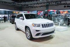 Jeep-großartiges Cherokee Stockbilder