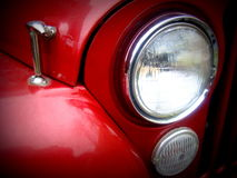 Jeep Headlight CJ7 Royaltyfri Foto
