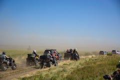 Jeep im Schlamm Lizenzfreie Stockfotos