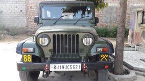 Jeep indiana Fotografia Stock Libera da Diritti