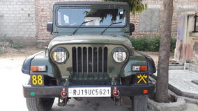 Jeep indienne Photographie stock libre de droits