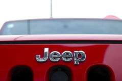 Jeep logo Royalty Free Stock Photos