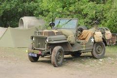 Jeep los E.E.U.U. de Willy de la guerra mundial 2 Imagen de archivo